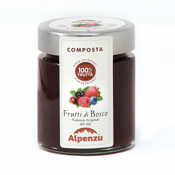Compote of wild berries...