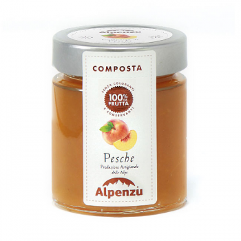 100% Peach fruit compote -...