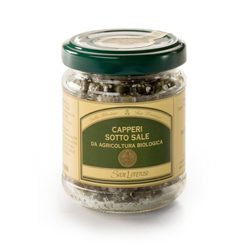 Organic salted capers - San...