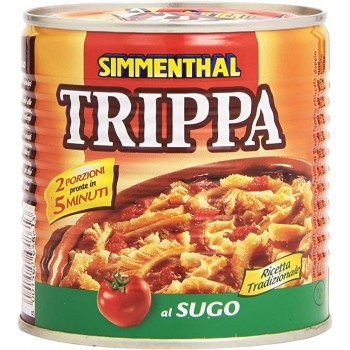 Tripe with Simmenthal sauce...