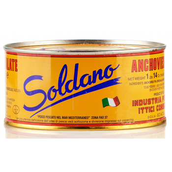 Salted anchovies - 1 bar -...