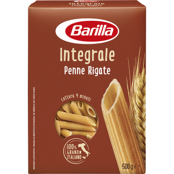 Barilla - Wholemeal Penne rigate - 500 g