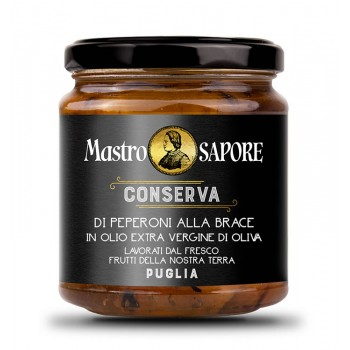 Preserve of Grilled Peppers - Mastro Sapore