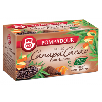 Infusion of Hemp and Cocoa - Pompadour