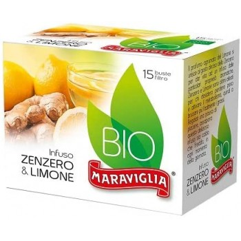 Ginger and Lemon Infusion - 15 filters - Maraviglia