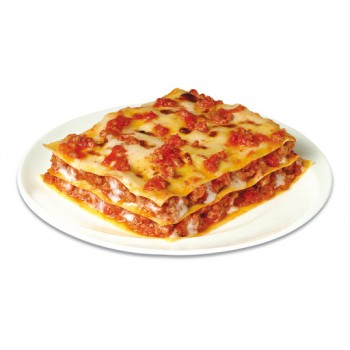 Homemade lasagna with meat...